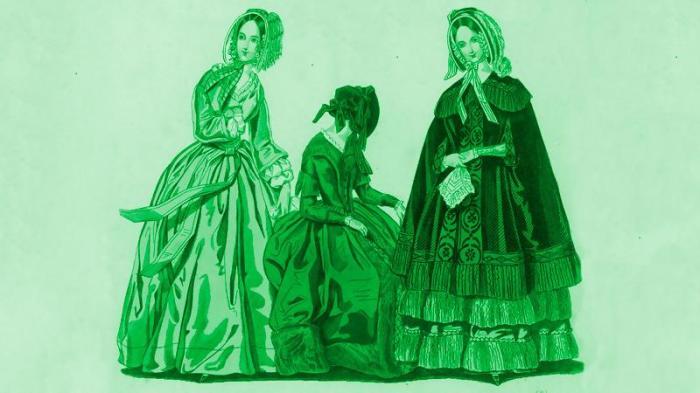 Зеленые платья с мышьяком