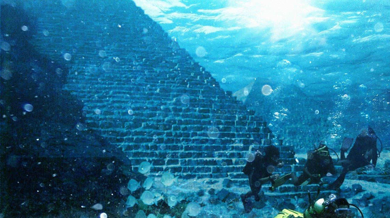 Пирамиды под водойй