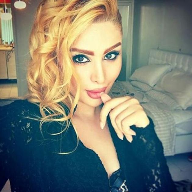 Иранка блондинка