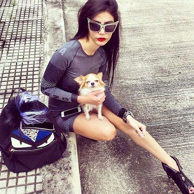 Иранка в солнцезащитных очках