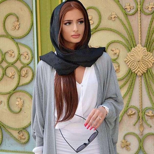 Контурный макияж у иранок