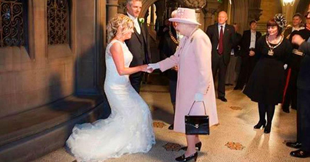 пригласила королеву на свадьбу